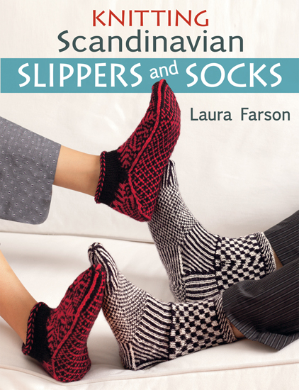 Knitting Scandinavian Slippers and Socks