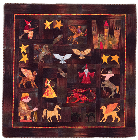 Magnificent Magical Sampler quilt from Spellbinding Quilts