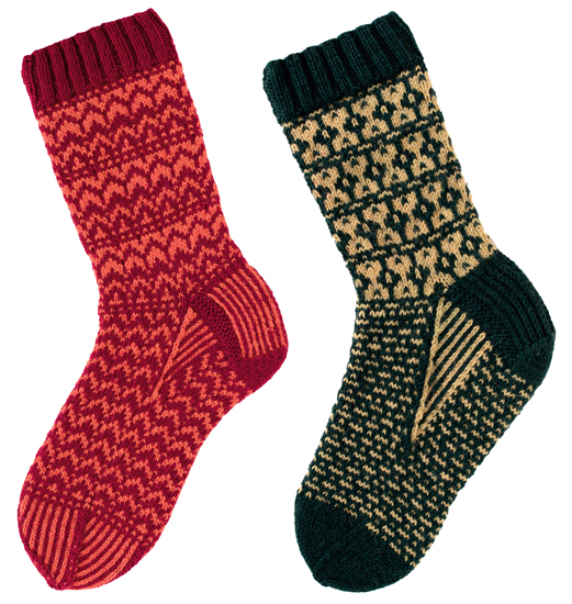 From More Sensational Knitted Socks