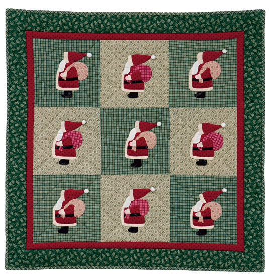 Baby's First Christmas quilt