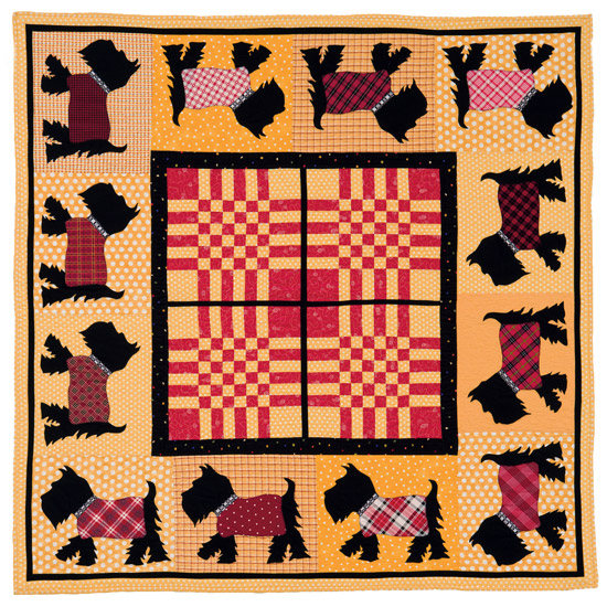 Puppy Parade quilt