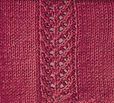 Knitting Various Stitches : Martingale - 365 Knitting Stitches a Year