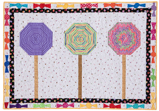 Lollipops quilt