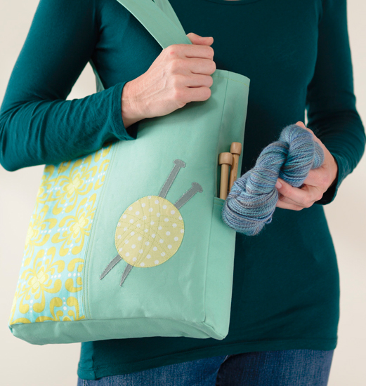 Knitter's Project Tote from Sew the Perfect Gift