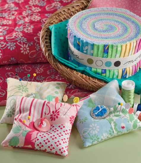 Pincushion from Four-Patch Frolic
