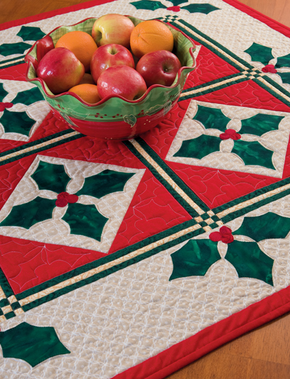 Holly Berry Table Topper