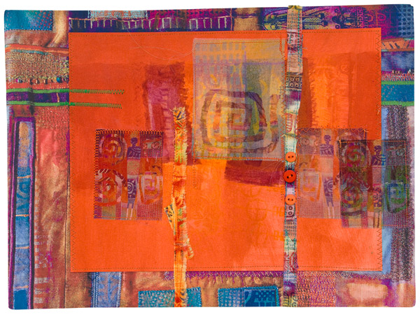 Art quilt from Creative Mixed Media