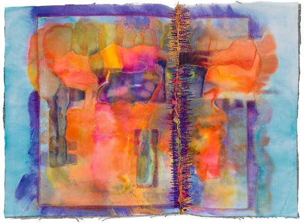 Untitled quilt by Sherrill Kahn