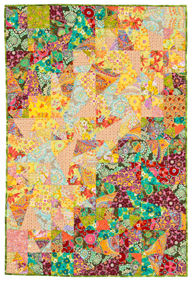 Slice Shuffle Slide With A Stack The Deck Quilt Pattern