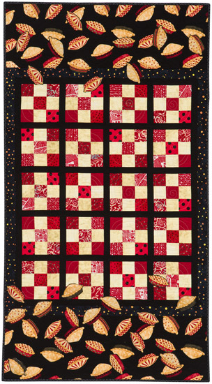 When Pies Fly quilt from Blended Borders