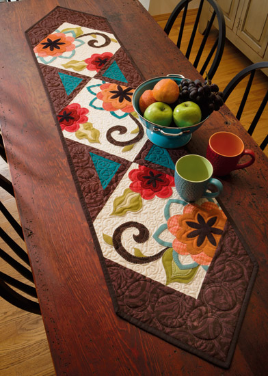 From Skinny Quilts and Table Runners II
