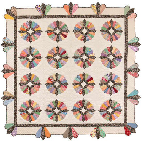 Fancy Dish quilt from Fancy to Frugal