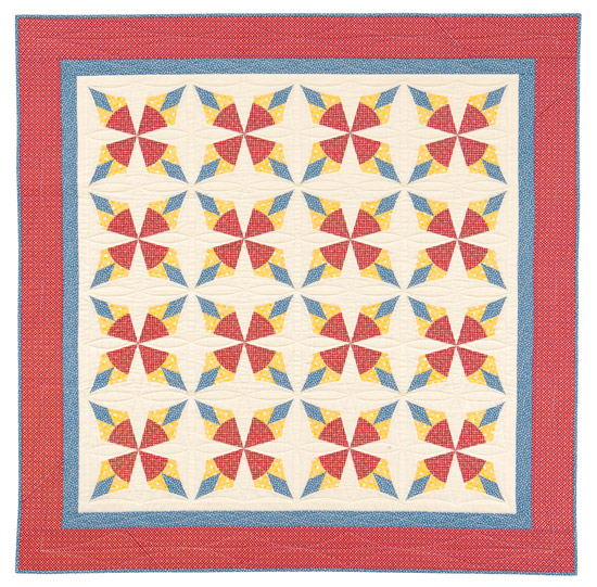 Cowboy's Star quilt by Nancy Mahoney