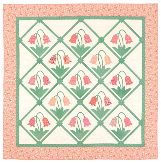 Bell Flowers quilt from Treasures from the '30s