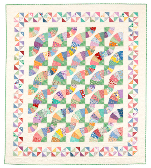 Whirling Fans quilt