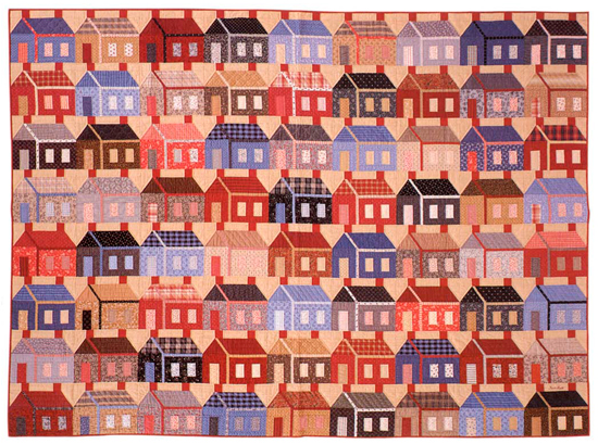 Good Neighbors quilt from The Joy of Quilting