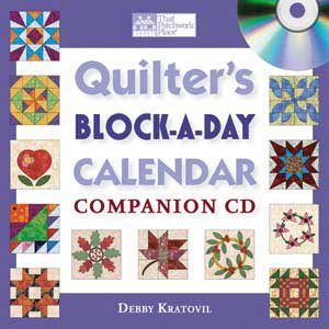 Quilter's Block-a-Day Calendar Companion CD