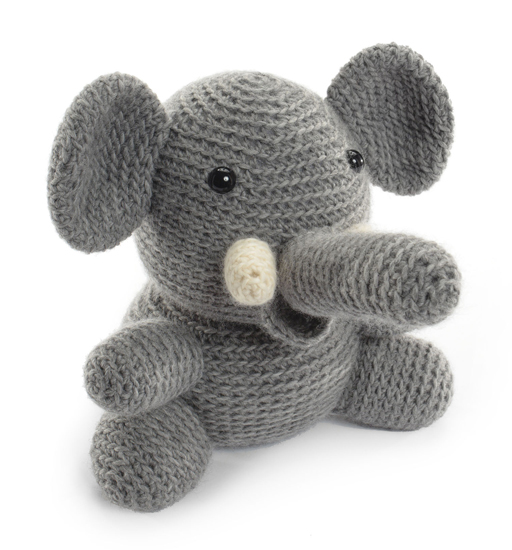 Elephant from Crocheted Softies