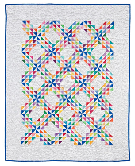 Baby Waves quilt