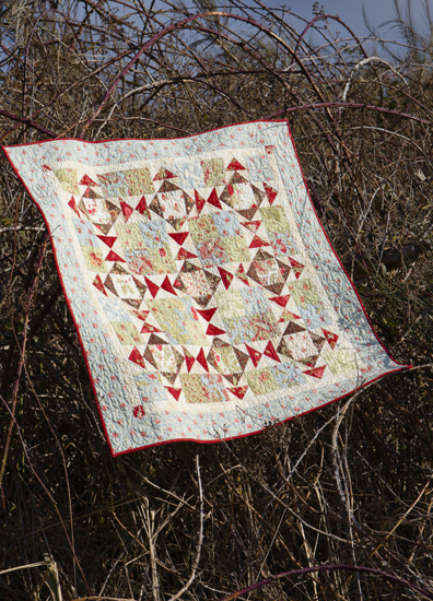 Winter White quilt from Another Bite of Schnibbles