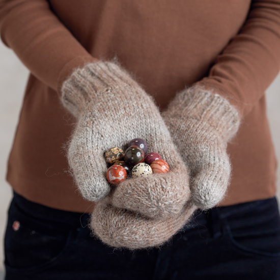 """Double Stuff"" mittens from Knitting Circles around Mittens and More"