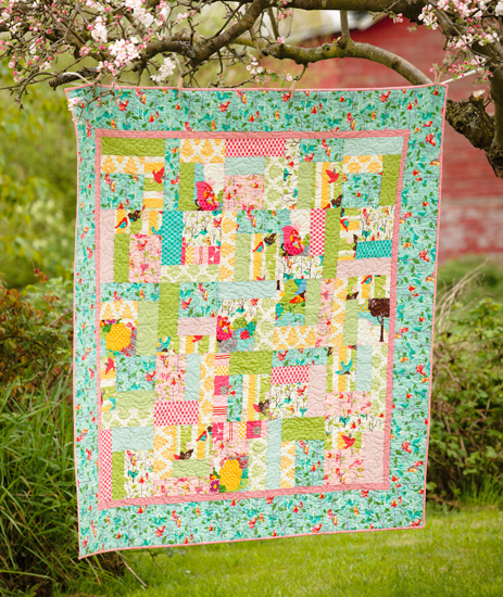 Nest quilt from 'Fast and Fun First Quilts'