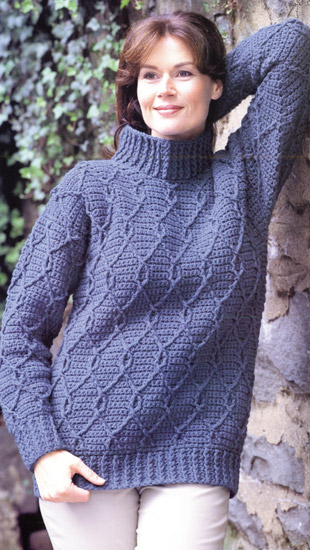 Martingale Crocheted Aran Sweaters Ebook