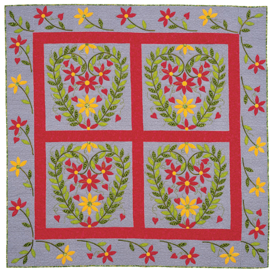 Colors of Love quilt