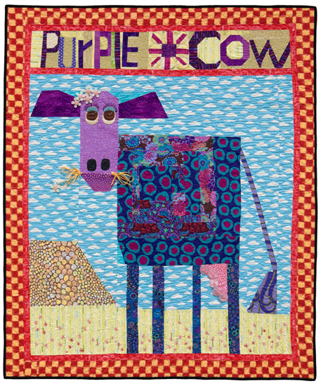 Purple Cow quilt