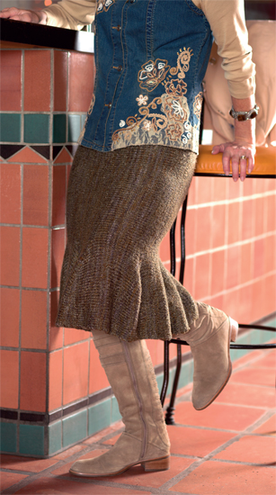 From Handknit Skirts