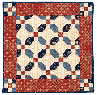 Martingale Americana Nine Patch Quilt Epattern