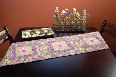Martingale Flowers In My Garden Table Runner Epattern