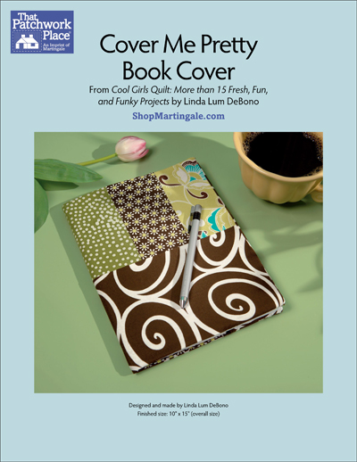 Pretty Book Cover Jobs ~ Martingale cover me pretty book epattern