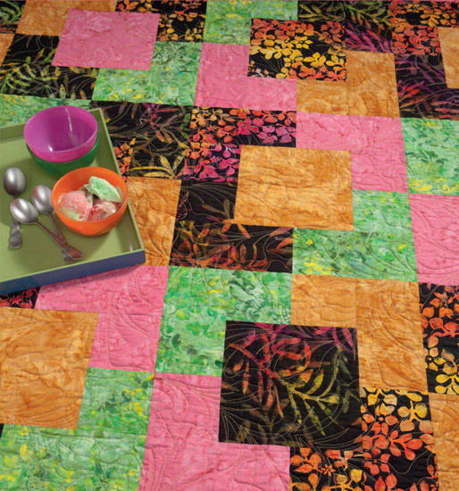 Try It On TuesdayMore Take 40 Quilts Jo's Country Junction Classy Take 5 Quilt Pattern