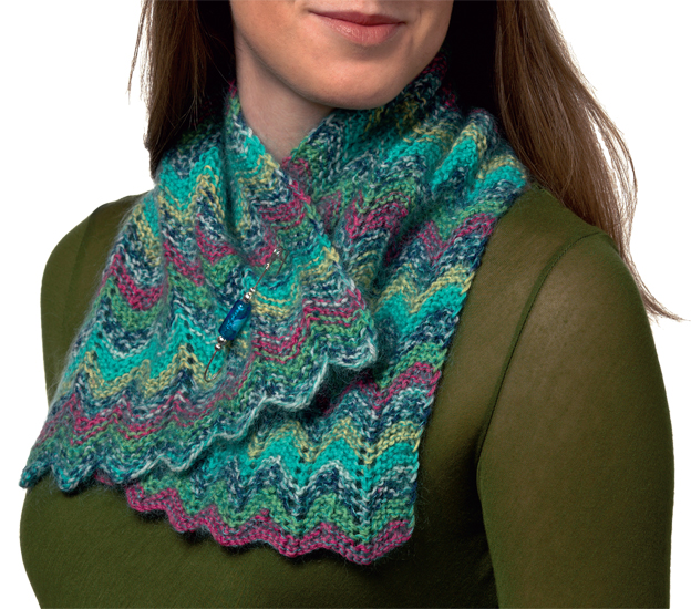 2 Easy Ways To Knit With Two Colors Stitch This The Martingale Blog