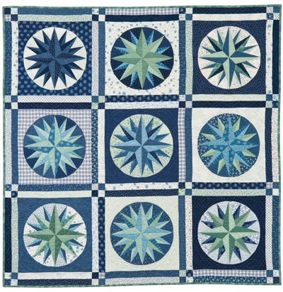 Martingale Mariner's Compass Quilt EPattern Extraordinary Mariners Compass Quilt Pattern