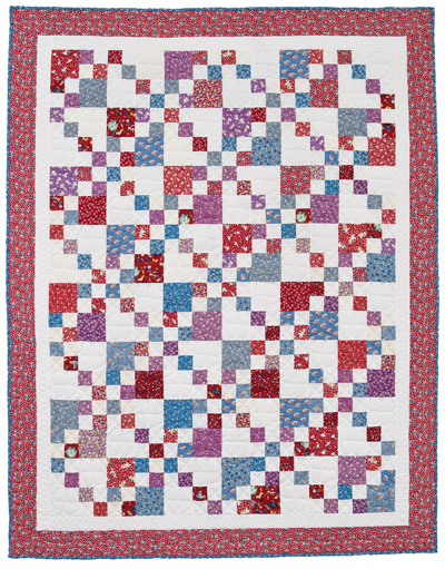 Martingale Forties Four Patch Quilt Epattern