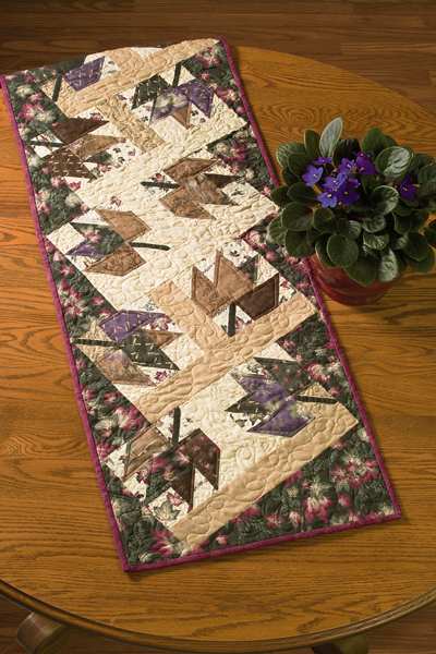 Martingale Autumn Leaves Table Runner Epattern