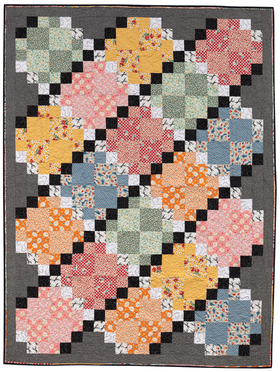 """Retrolicious!"" from Quilting with Fat Quarters"