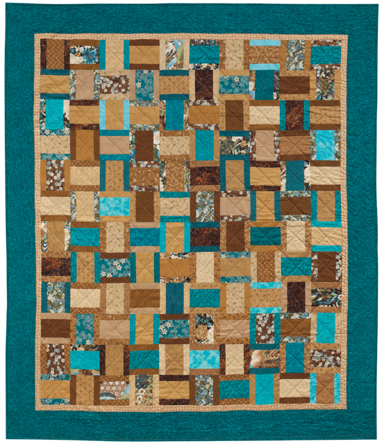 Quilt Patterns For 20 Fat Quarters : 5 fast, fat-quarter friendly quilt patterns - Stitch This! The Martingale Blog