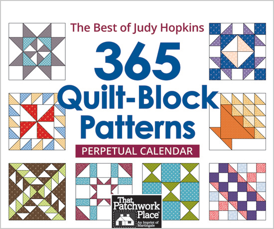 365 Quilt-Block Patterns Perpetual Calendar