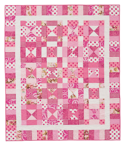 Martingale Tickled Pink Quilt Epattern
