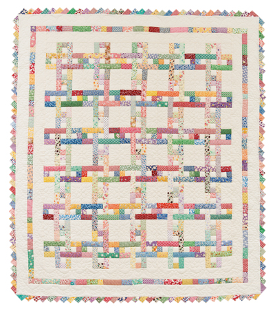 Chain Link quilt