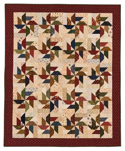 Martingale Pinwheel Quilt EPattern Delectable Pinwheel Quilt Pattern