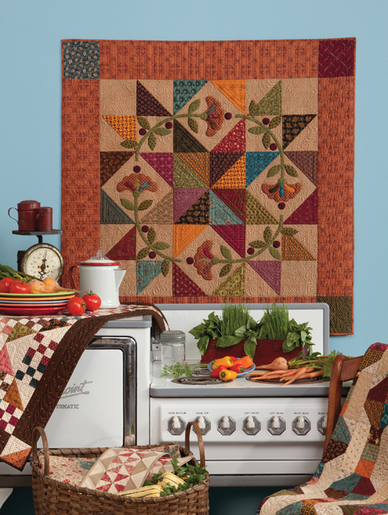 Prairie Star Posies from Homestyle Quilts