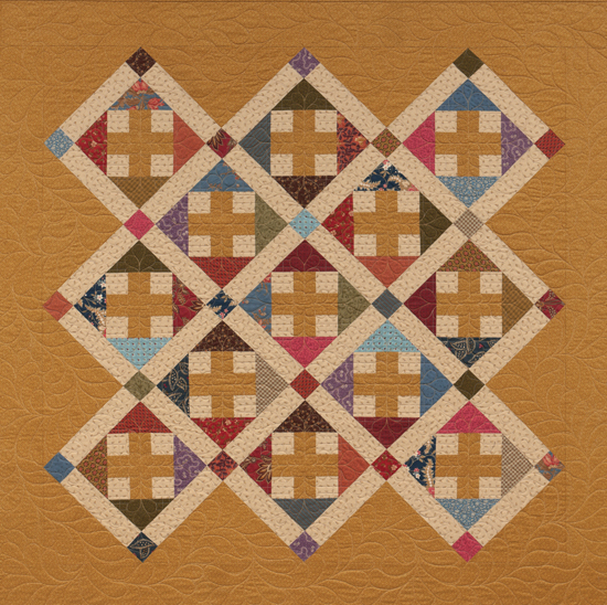 Crossing Paths quilt