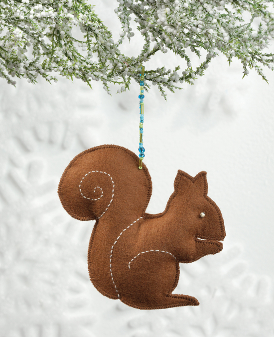Oh Nuts Christmas ornament