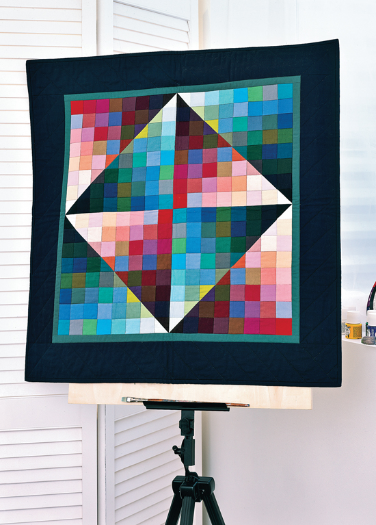 Shades of Colorwash from Best Wall Quilts