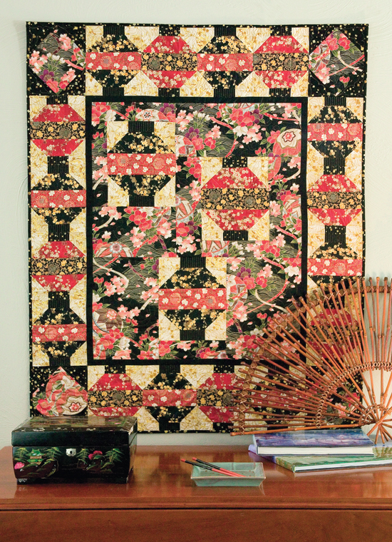 Lantern Light quilt from Best Wall Quilts