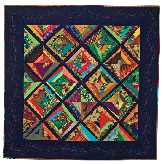 """Summer Soltice"" quilt"